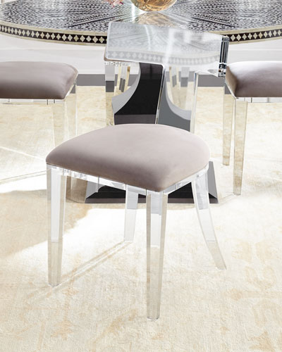 Nessy Acrylic Dining Chair