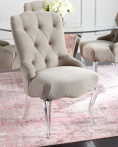 Aveline Tufted Dining Chairs  Set of 2