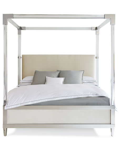 Rayleigh Acrylic King Canopy Bed