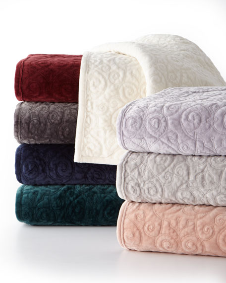 Charisma Full/Queen Regent Velvet Coverlet
