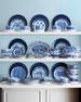 12 Traditional Dessert Plates