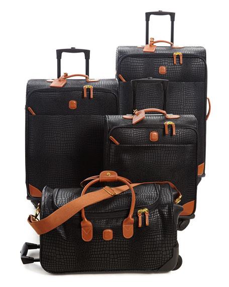 "My Safari Black 18"" Cargo Duffel Luggage"