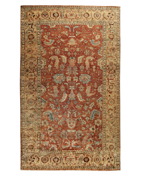 Thompson Oushak Rug, 4' x 6'