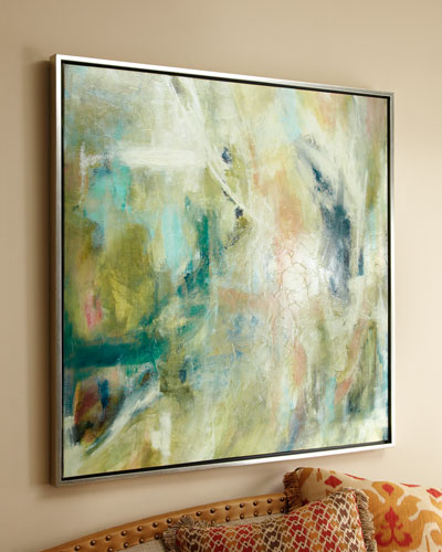Blush Giclee on Canvas Wall Art