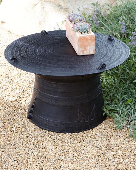 Unique Outdoor Coffee Tables: Rain Drum Coffee Table