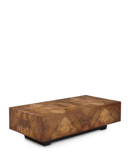 Chelsea Walnut-Burl Coffee Table