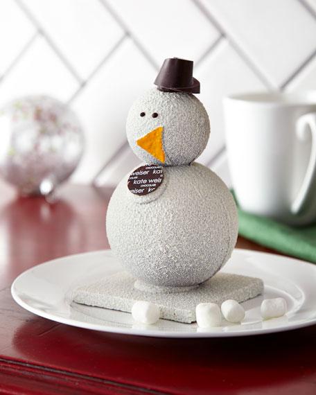 Carl the Drinking Chocolate Snowman