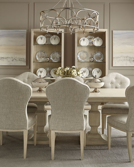 Bernhardt East Hampton Pedestal Dining Table