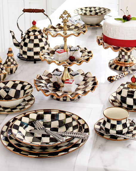 Courtly Check Charger Plate