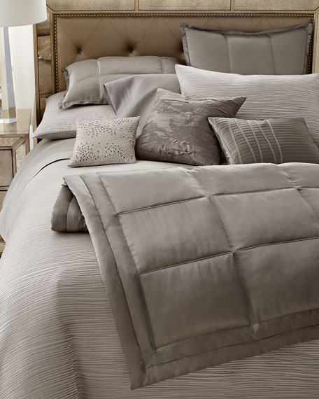 Reflection King Jacquard Stripe Duvet Cover