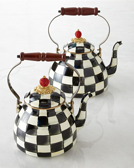 Courtly Check Two-Quart Tea Kettle