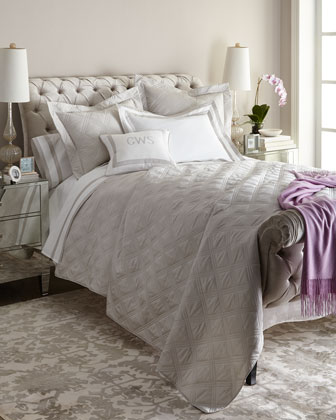 Marlowe & Windowpane Bedding