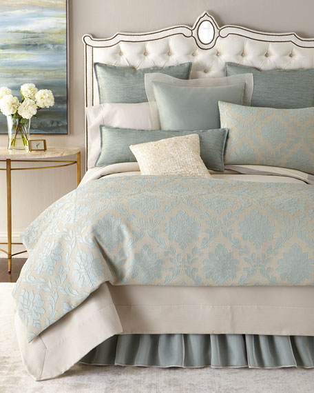 King Angelica Pique Coverlet