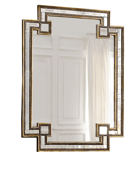 Deco Bathroom Mirror: John-Richard Collection Mosaic Mirror
