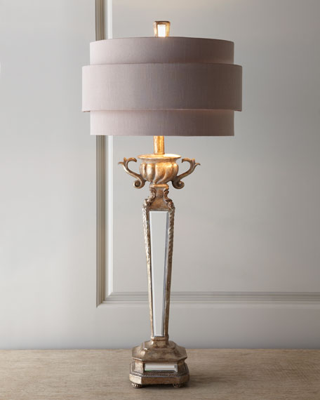 Deco mirror table lamp t aloadofball Image collections