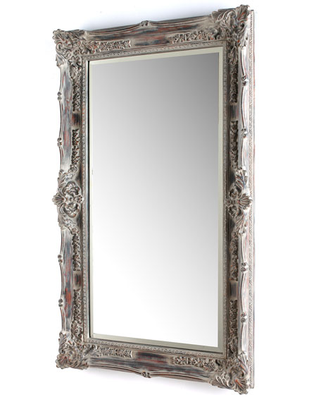 Quot Antique French Quot Floor Mirror