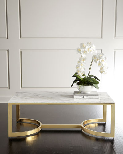 Marquis Marble Coffee Table