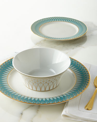 12-Piece Olivia Azul Dinnerware Service