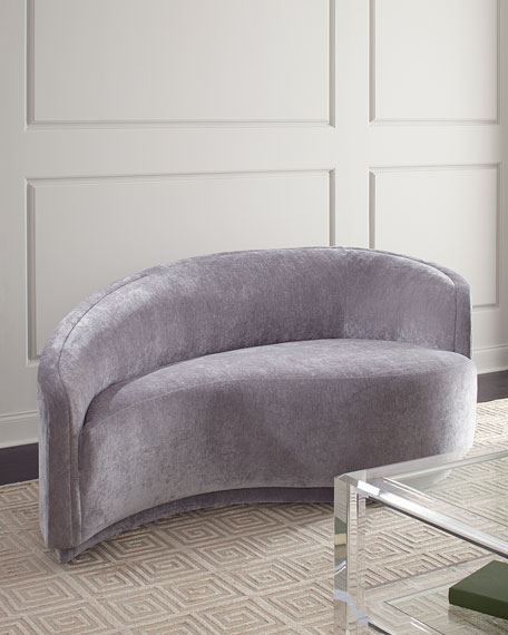 Interlude Home Dana Right Curved Chaise