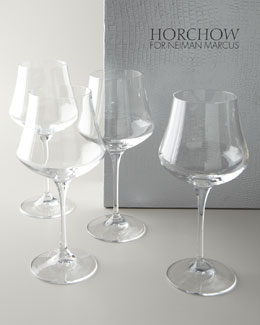 Cristal de Paris Four Wine Glasses