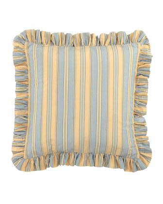 Striped European Sham