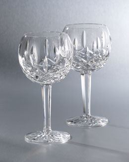 "Waterford Crystal ""Lismore"" Crystal Wine Glass"