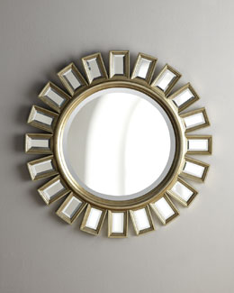 """Cyrus"" Sunburst Mirror"