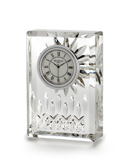 "Waterford Crystal ""Lismore"" Clock"
