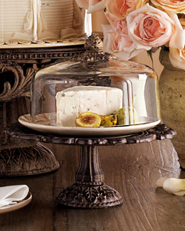GG Collection Cheese/Dessert Dome & Pedestal