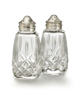 Lismore Salt & Pepper Shakers