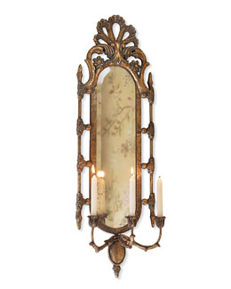 Catriona Mirrored Candle Sconce
