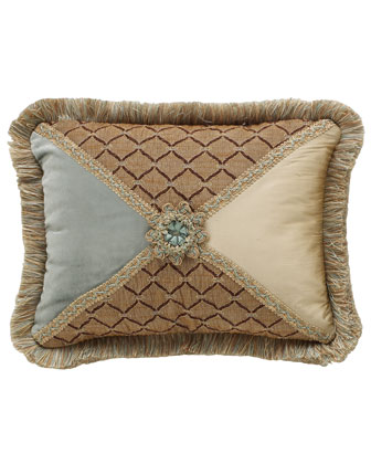 Rosette-Center Pillow, 12