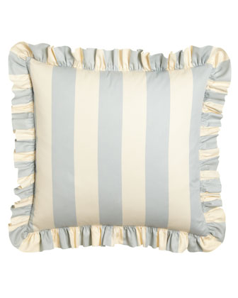 Each Madeline Striped European Sham