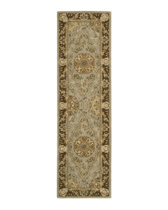 Medallion Garden Runner, 2'3