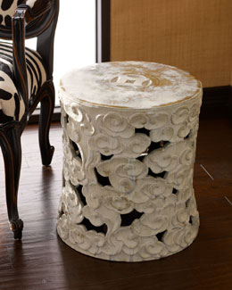 Antique Garden Stool