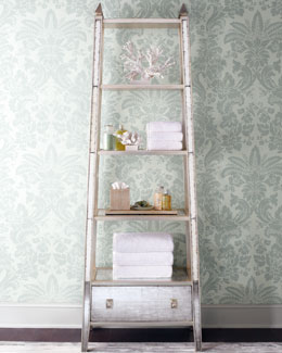 John-Richard Collection Mirrored Etagere