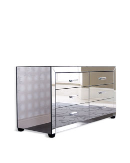 """Clairmonte"" Mirrored Dresser"