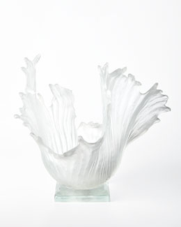 "Amanda Brisbane ""Ice Ribbons"" Sculpture"