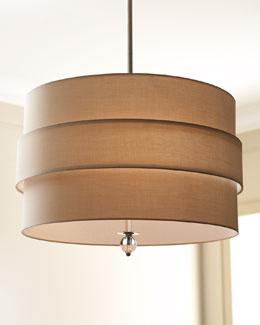 Orbit Shade Three-Light Pendant