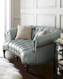 "Old Hickory Tannery ""Raza Pressley"" Sofa"