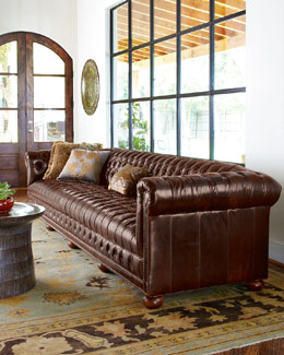 Old Hickory Tannery Executive Sofa
