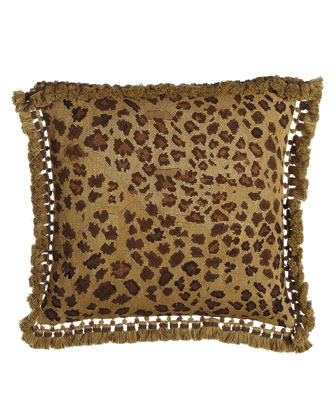 Leopard Aubusson Pillow, 22