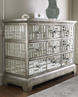 "John-Richard Collection ""Gatsby"" Mirrored Chest"