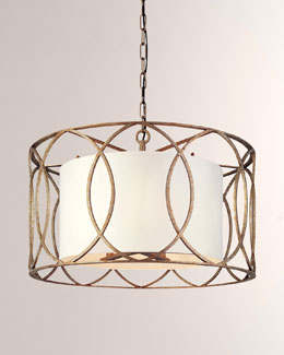 """Sausalito"" Five-Light Chandelier"