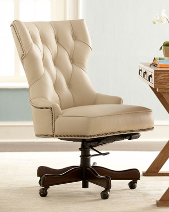 "Mason"" Leather Desk Chair"