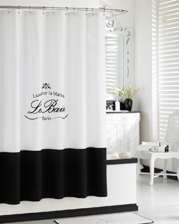"Kassatex ""Le Bain"" Shower Curtain"