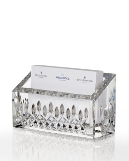 Waterford Lismore Business Card Holder