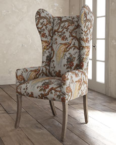 Superbe She Pointed Me Towards This Chair Sold At Horchow Which Is Upholstered In  The Beautiful Fabric #3: