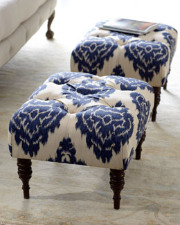 """Emily"" Tufted Bench"