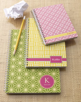 "Milo Paper ""Preppy Mod"" Notebook Set"